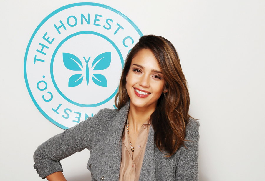 Image result for the honest company and jessica alba