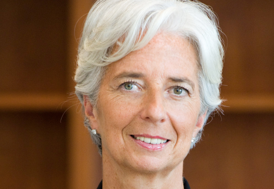 Christine Lagarde, M.D. International Monetary Fund