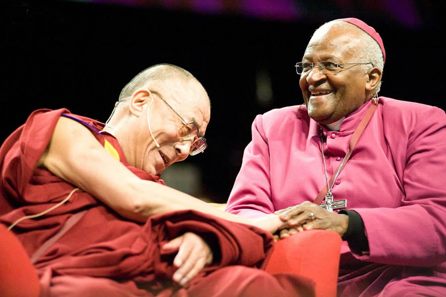 "Desmond Tutu: ""God Is Not A Christian. Nor a Jew, Muslim, Hindu…"""