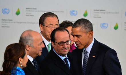 World Leaders Celebrate Climate Deal