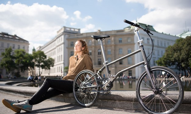 The World's First Self-Charging Electric Folding Bike is Here