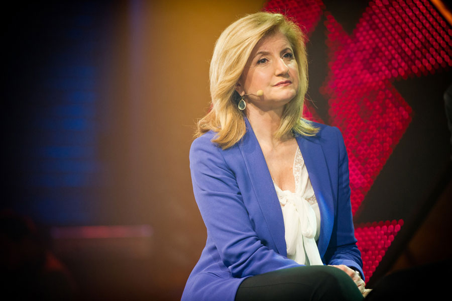 Arianna Huffington: Digital Revolution Creating Burnout