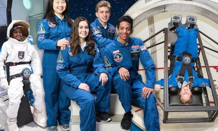 Students From Around The World To Train Like Astronauts