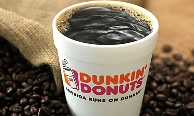 Dunkin' Donuts to Eliminate Foam Cups Worldwide