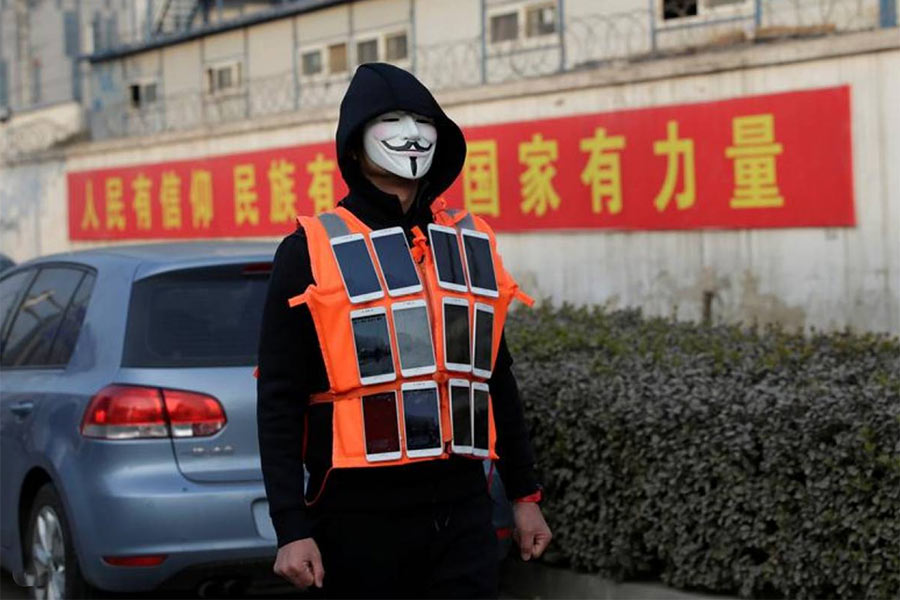 Artist Live Streams Beijing Smog to Raise Awareness