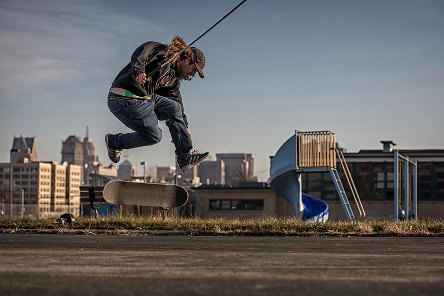 Blind Skateboarder Dan Mancina on His New Vision For The World