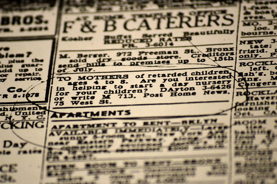 70 Years Later, a Classified Ad Still Changing Lives