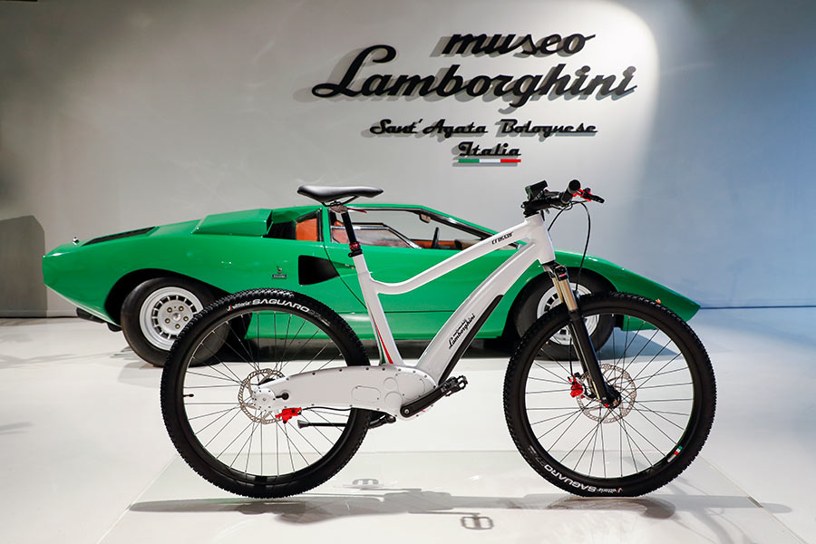 Lamborghini S Latest Innovation A Bicycle Real Leaders