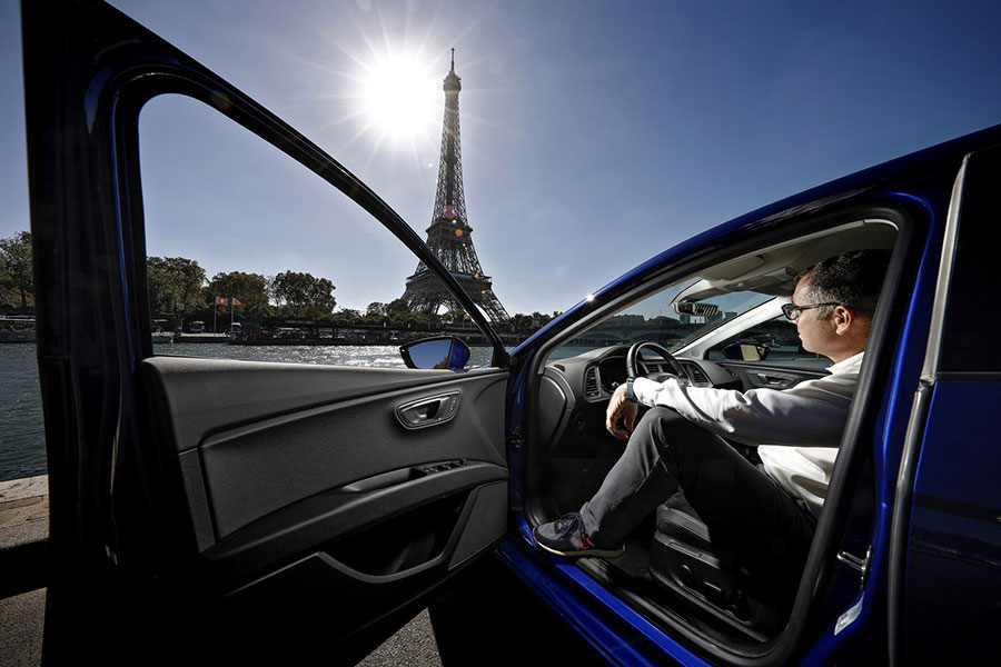 Barcelona to The Eiffel Tower For $50 on Methane