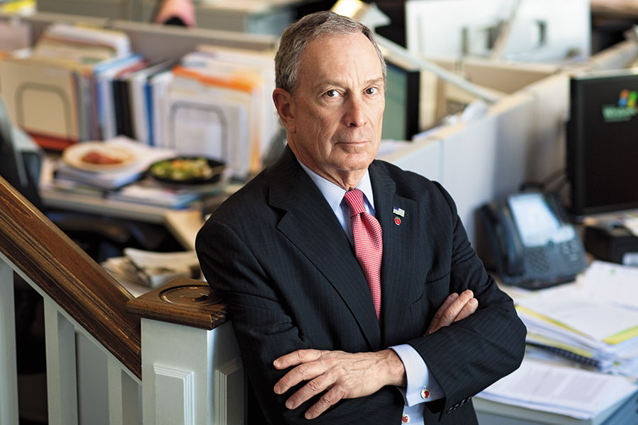 Michael Bloomberg: Nobody Offered Me a Job, so I Did This Instead