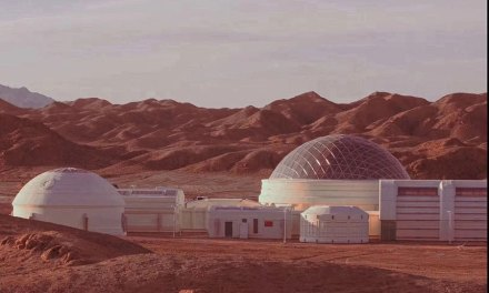 Mars Base Opens in The Gobi Desert