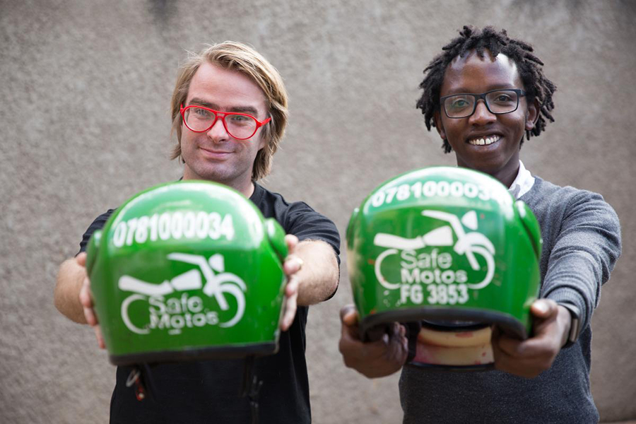 Motorbike Transport App Creates Jobs And Saves Lives in Rwanda