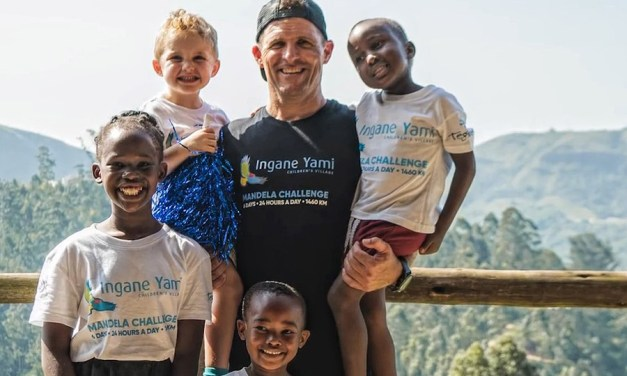 The Extreme Athletes Who Built a Home for Orphans in Six Days