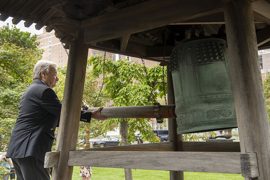 UN General-Secretary Rings Peace Bell and Calls For Global Action Against Our Common Enemy: The Virus