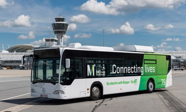 A New Bus at Munich Airport Runs on Gas From Our Waste