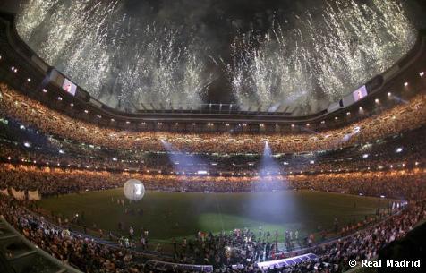 Бернабеу празднует 30-е чемпионство