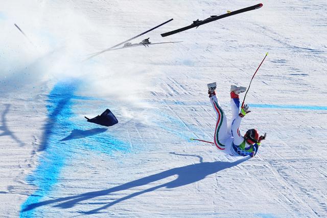 Alpine Skiing Men's Super G - Day 8