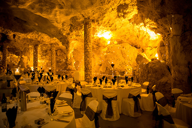Cave The Perfect Setting For Jayde Amp Seans Elegant Wedding