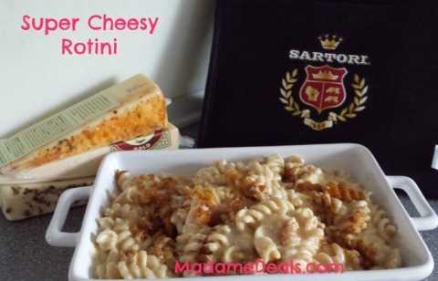 Super cheesy rotini