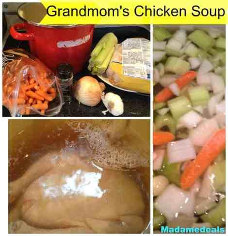 grandmom's chicken soup