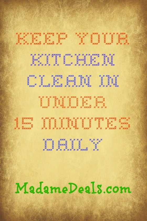 Kitchen Clean 1