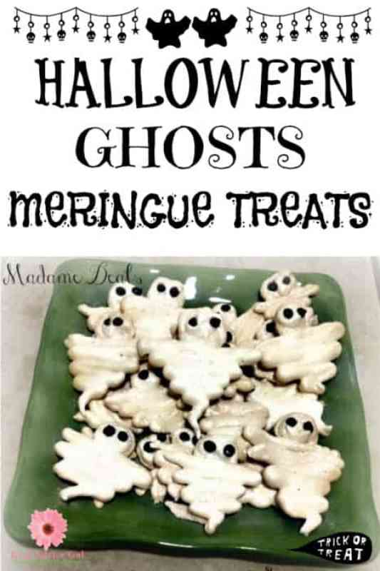 Halloween Meringue Ghosts Recipe
