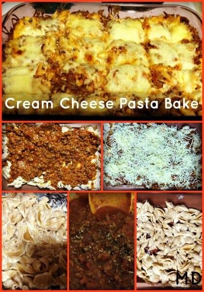 Cream-cheese-pasta-bake