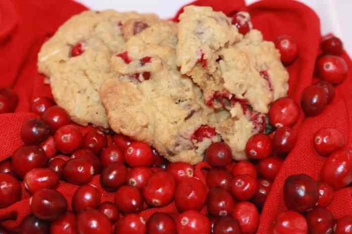 Amaretto oatmeal cookie