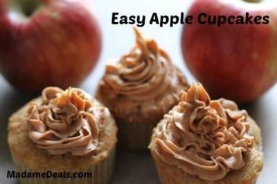easy apple cupcakes