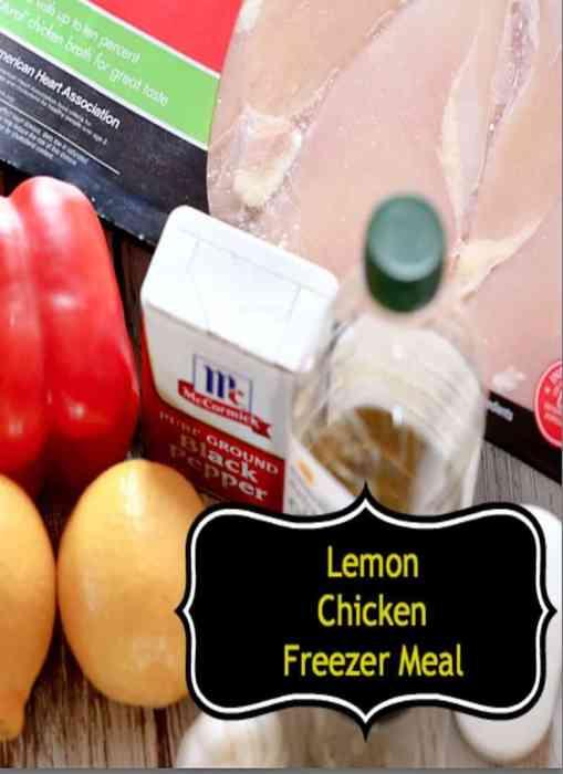 crockpot chicken lemon