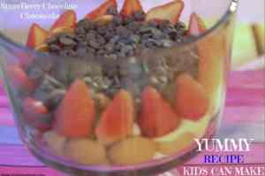Strawberry Chocolate Cheese cake