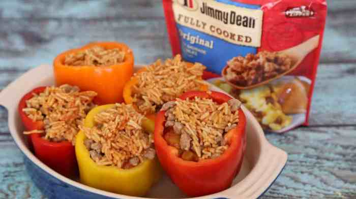 Healthy stuffed peppers recipe that's super easy to make.