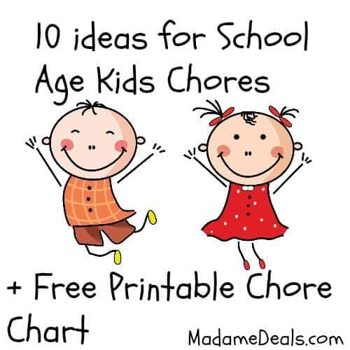 Chore Chart Kids