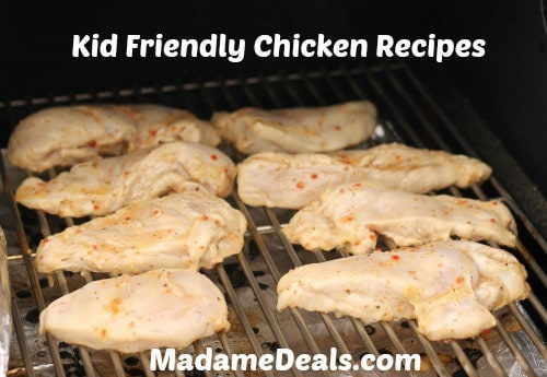kid friendly chicken recipes