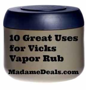 uses-for-vicks-vapor-rub