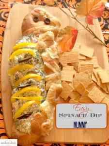 spinach bread dip