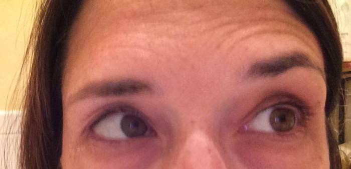 eye lashes prior to lash serum