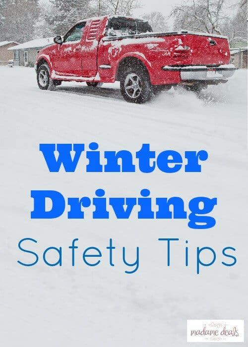Driving in Snow Tips