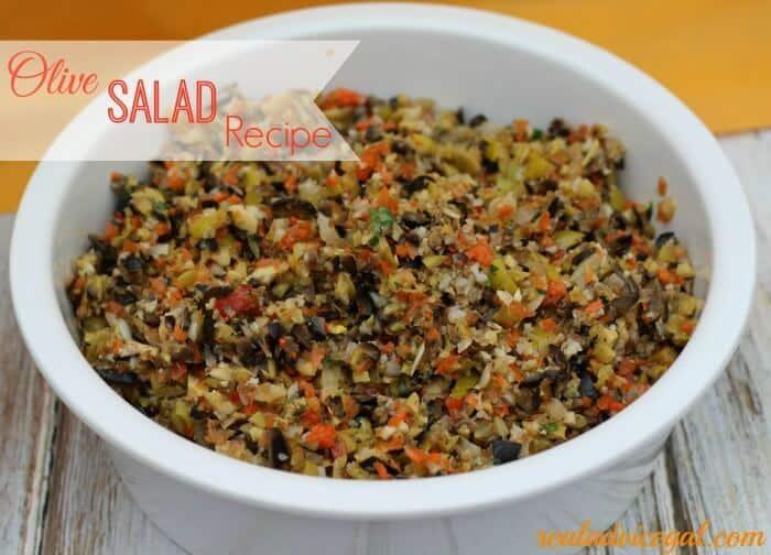 Olive Salad Recipe