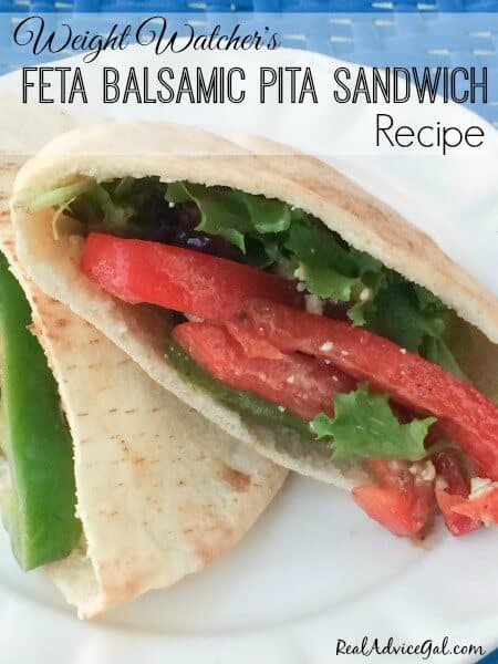 Have a bite without fear of calories, try this super delicious and very easy to prepare Feta Balsamic Pita Sandwich Recipe.