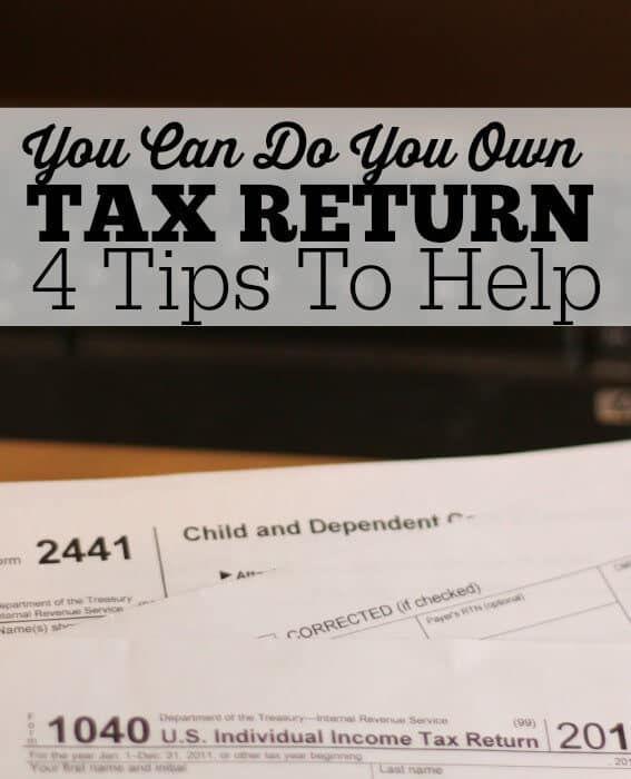 You can do your own tax return