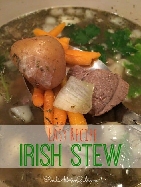 Easy Irish Stew Recipe! Perfect for St. Patrick's Day