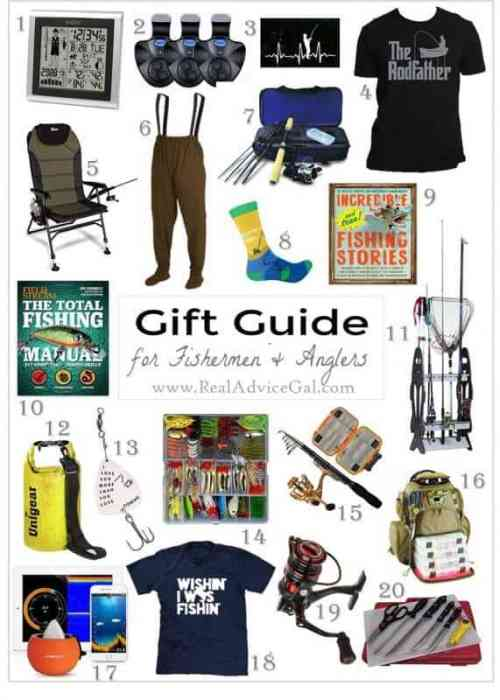 holiday present ideas for fishermen