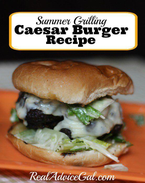 Caesar Burger Recipe