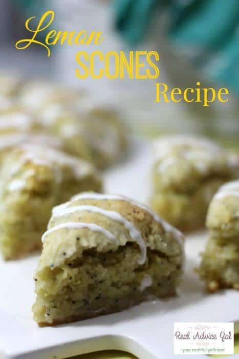 Lemon Scones Recipe