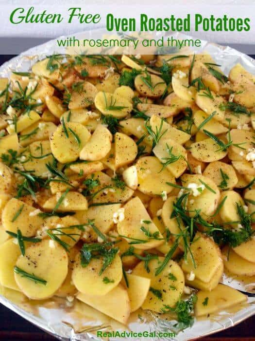 Gluten Free Oven Roasted Potatoes Recipe