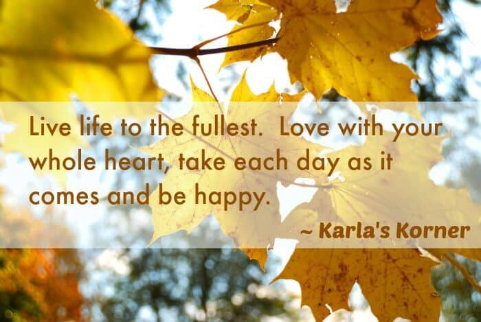 Karla's Korner: Leaf Moments