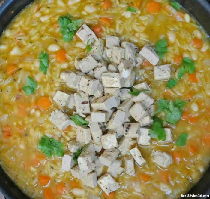 Vegetable Chicken Orzo Soup Recipe