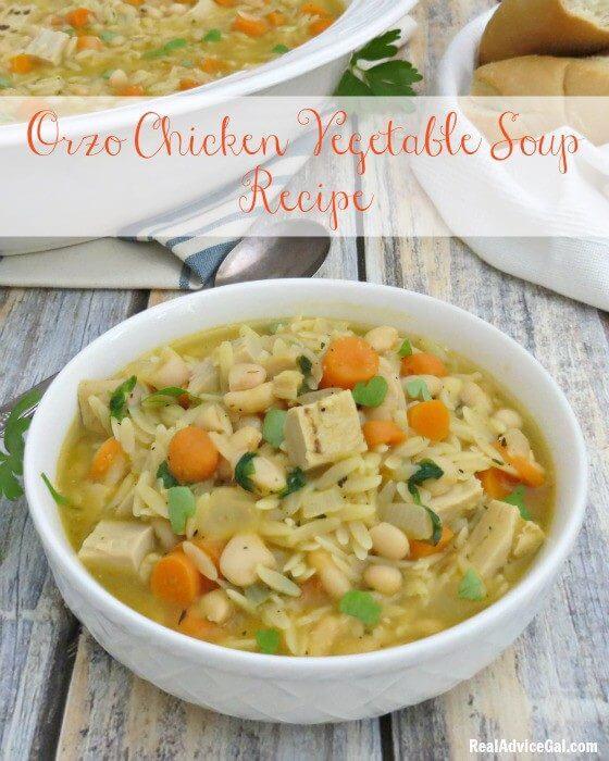 Orzo Chicken Vegetable Soup Recipe