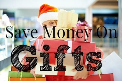 save money on gifts